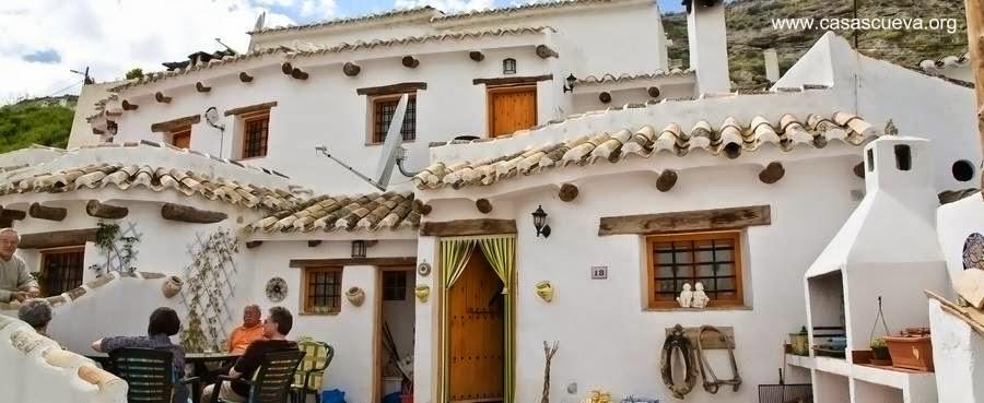 Casas cueva en España