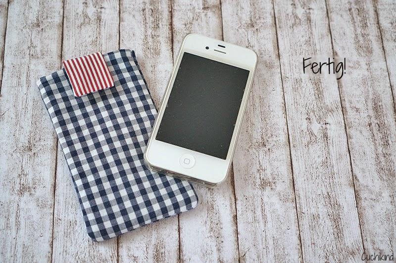 Iphone 4s Hülle nähen