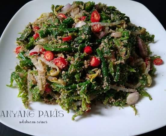 Resep Membuat Sayur Anyang Paku Atau Pakis Khas Melayu Riau Budaya Melayu Riau