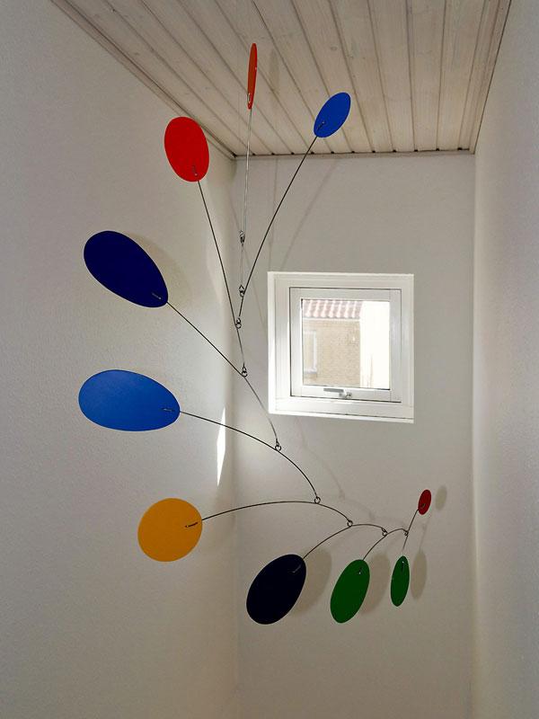 Frithmobiles Modern Art Blog: Raise the Ceiling! Hang a