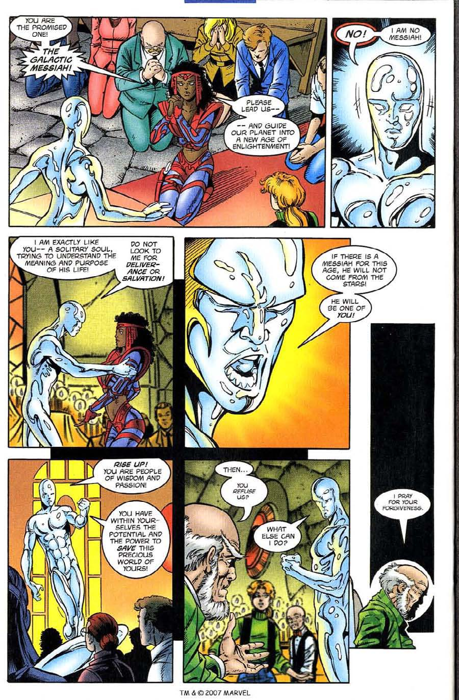 Read online Silver Surfer (1987) comic -  Issue #132 - 28
