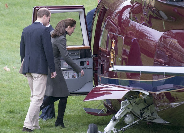 The Duke And Duchess Of Cambridge Visited North Wales