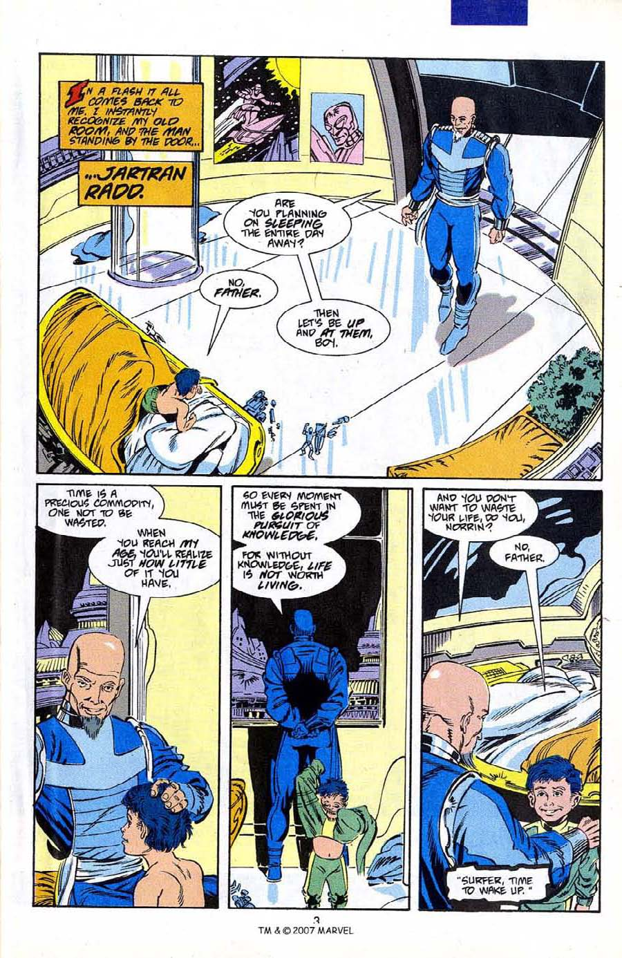 Read online Silver Surfer (1987) comic -  Issue #50 - 5