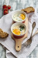 Jajka z botwinką