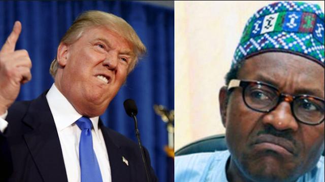 Donald Trump,Buhari