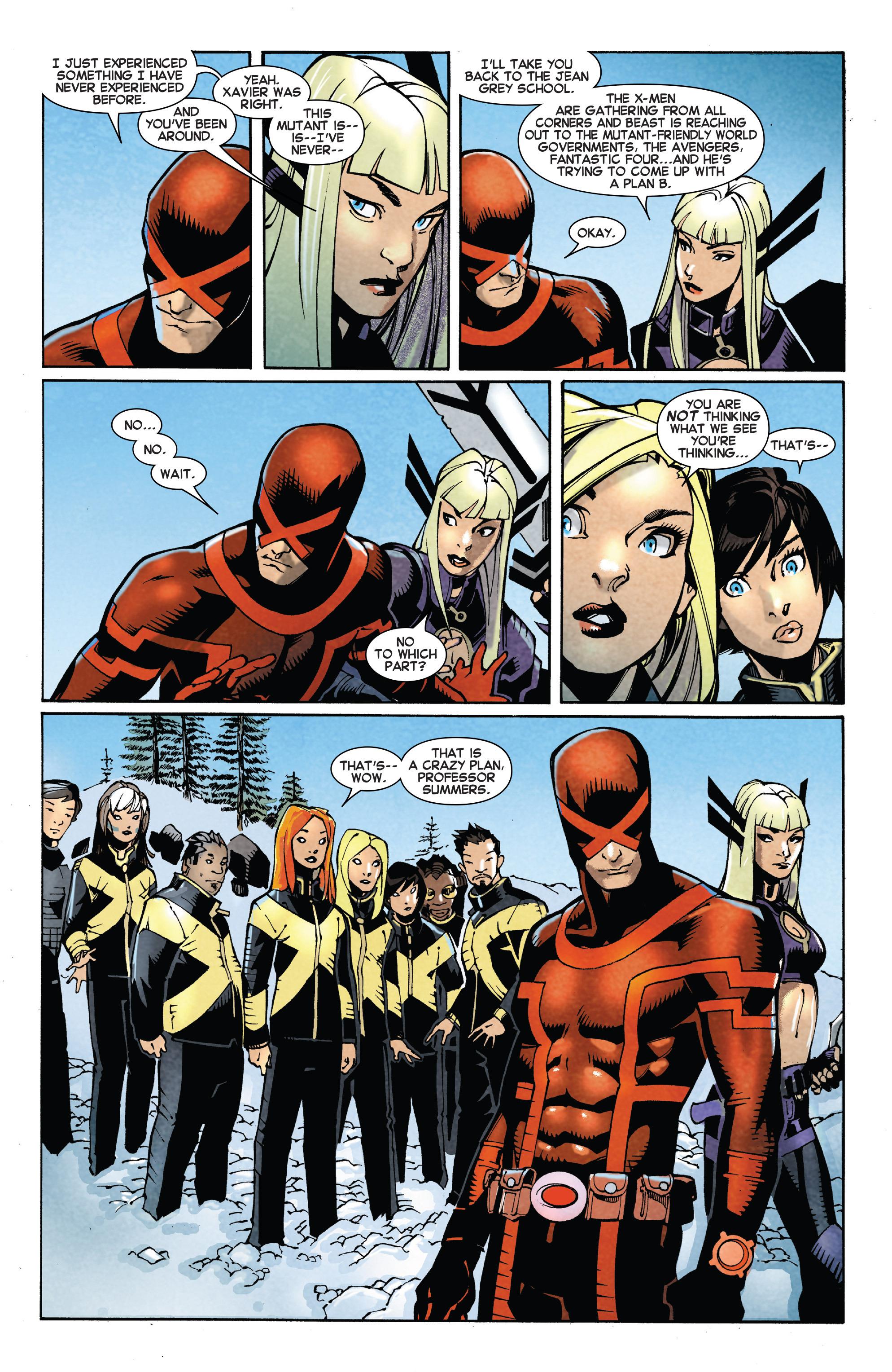 Read online Uncanny X-Men (2013) comic -  Issue #27 - 17