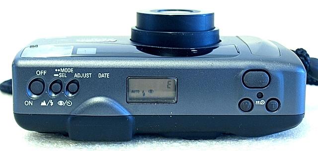 Nikon Zoom 310 AF QD, Top