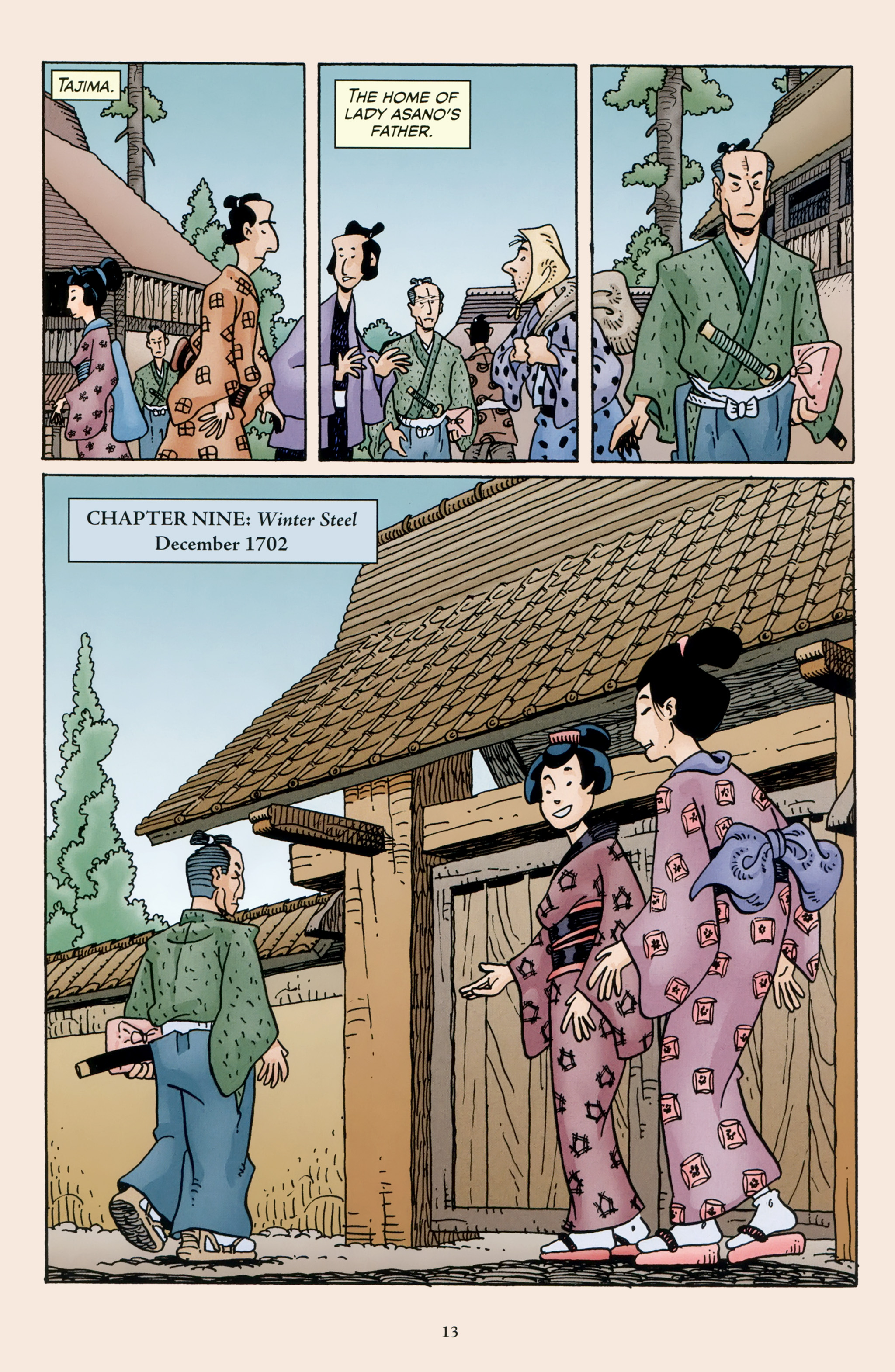Read online 47 Ronin comic -  Issue #4 - 15