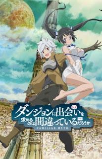 Download Danmachi : Dungeon ni Deai wo Motomeru no wa Machigatteiru Darou ka Subtitle Indonesia (Batch)