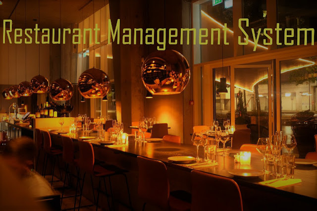 Restaurant Management System Project Using Php Amp Mysql