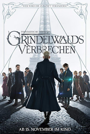 Poster Of Free Download Fantastic Beasts: The Crimes of Grindelwald 2018 300MB Full Movie Hindi Dubbed 720P Bluray HD HEVC Small Size Pc Movie Only At worldfree4u.com