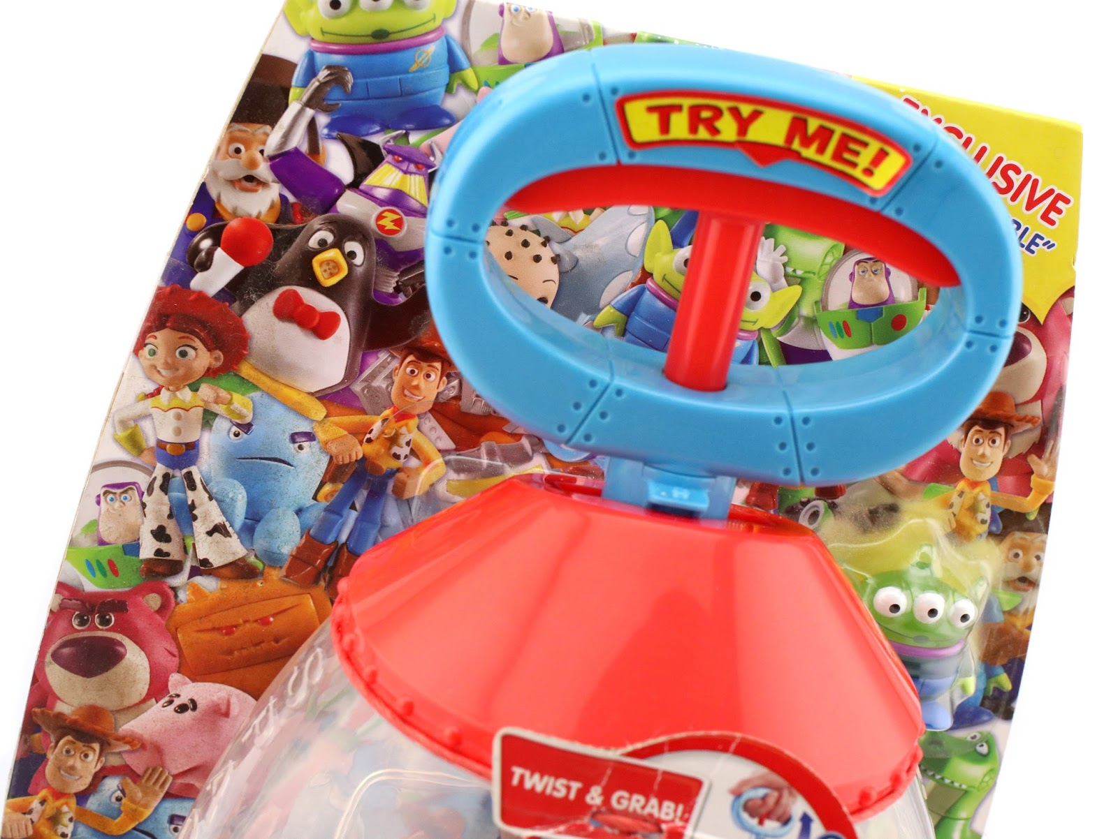 toy story buddy pack the claw carry case