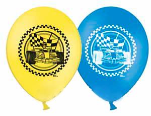 Воздушные шарики с формулой один