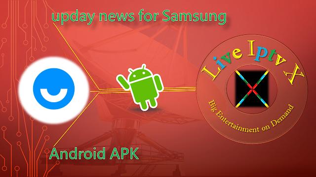 upday news Samsung APK