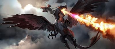 Imagen digital de dragón.