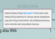 Gambar Posting Lightbox di Blog AMP Fajrin