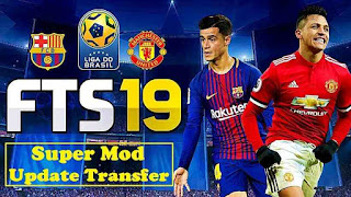 Hack First Touch Soccer 2019 mod tiền cho Android FTS-19-Super-Mod-Update-Transfer-Apk-Data-Obb-Download-compressed