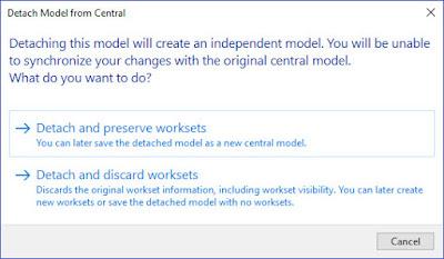 创建新的Revit Central文件-两种结果不同的方法插图(2)