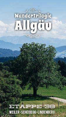 Wandertrilogie Allgäu | Etappe 38 Weiler-Scheidegg-Lindenberg | Wasserläufer Route