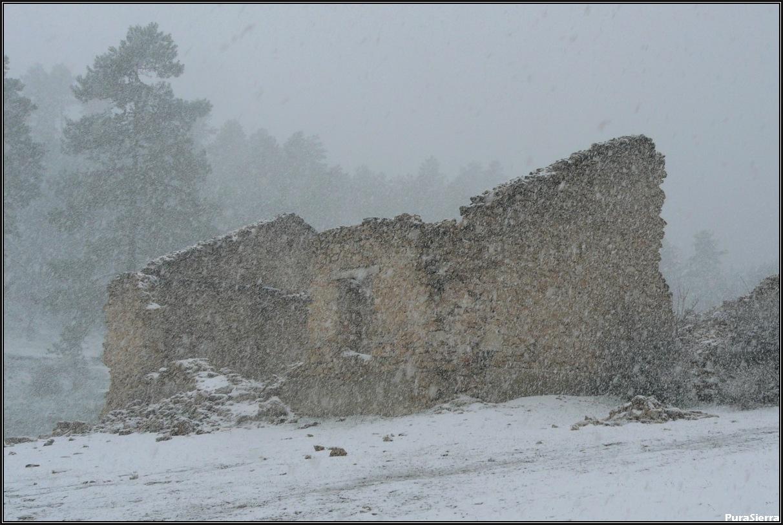 Poblaciones abandonadas en la zona PuraSierra