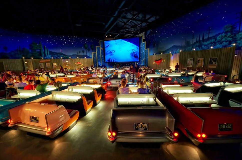 Sci-Fi Dine-in Theater, Disney Hollywood Studios, USA