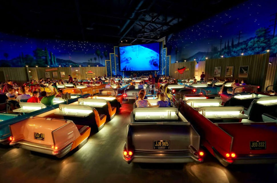 Sci-Fi Dine-in Theater, Disney Hollywood Studios, USA