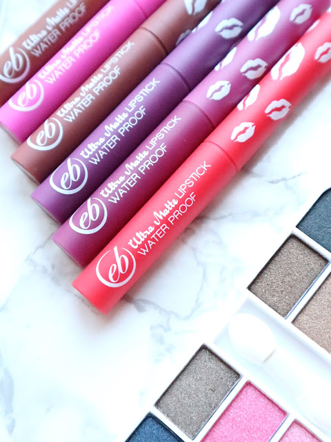 Ever Bilena Ultra Matte Waterproof Lipstick Review Swatches