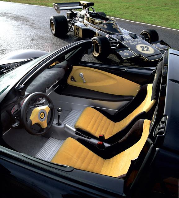 Lotus Exige S Interior