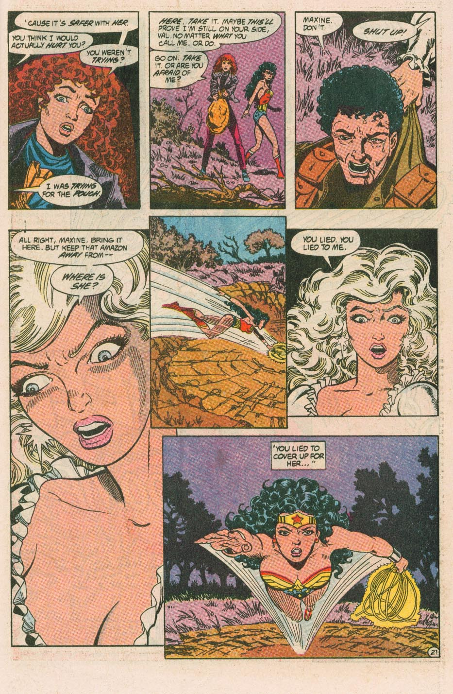 Read online Wonder Woman (1987) comic -  Issue #42 - 23