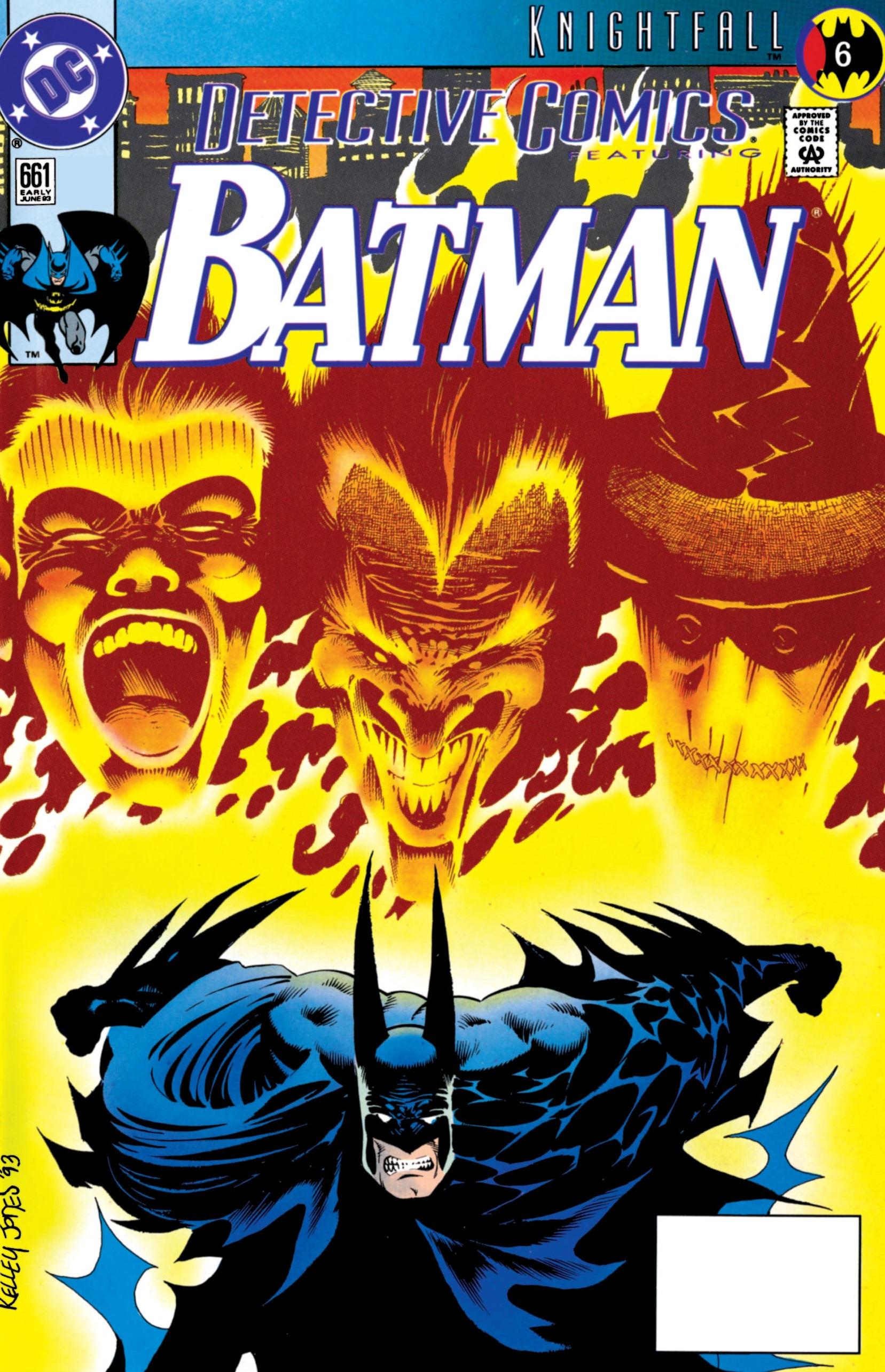 Detective Comics (1937) 661 Page 0