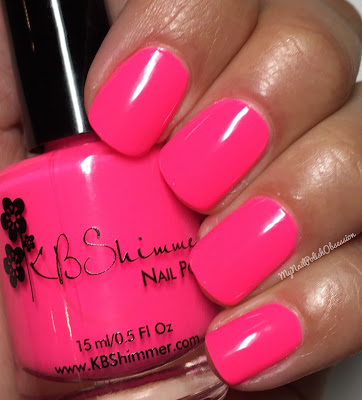 KBShimmer Summer 2016; How low Can You Flamingo?
