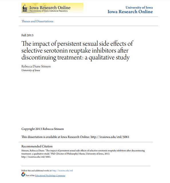curare la disfunzione sessuale indotta da ssri