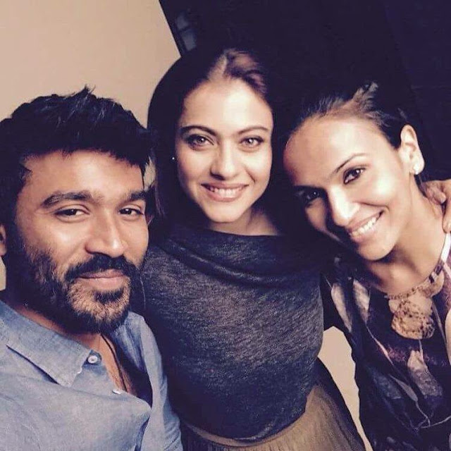 Kajol to work with Dhanush in VIP2