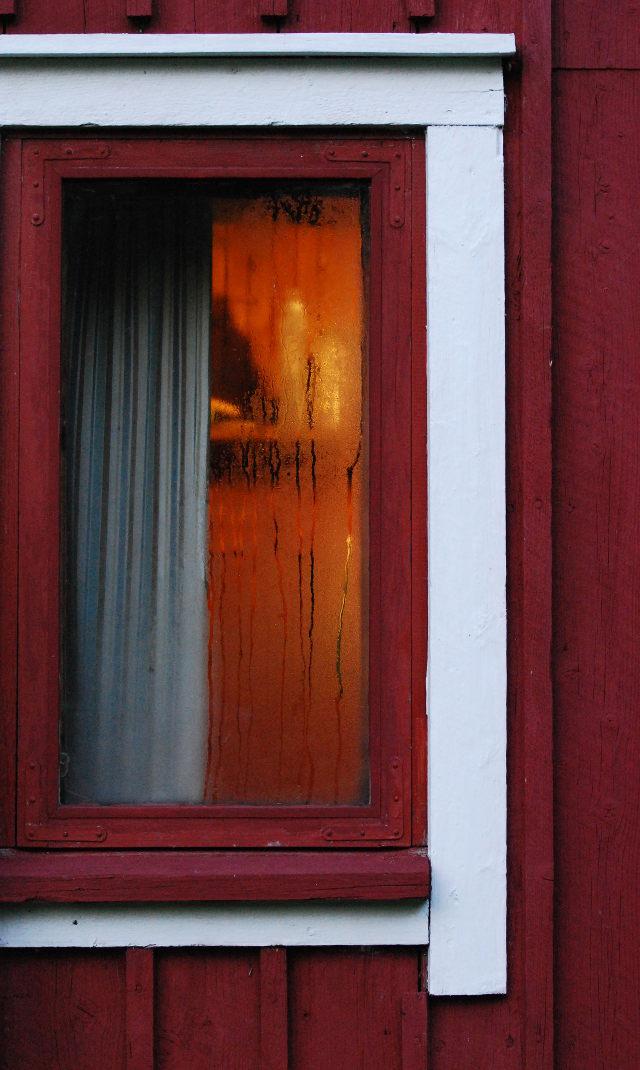 saunan ikkuna, window, ikkuna, summer, kesäilta