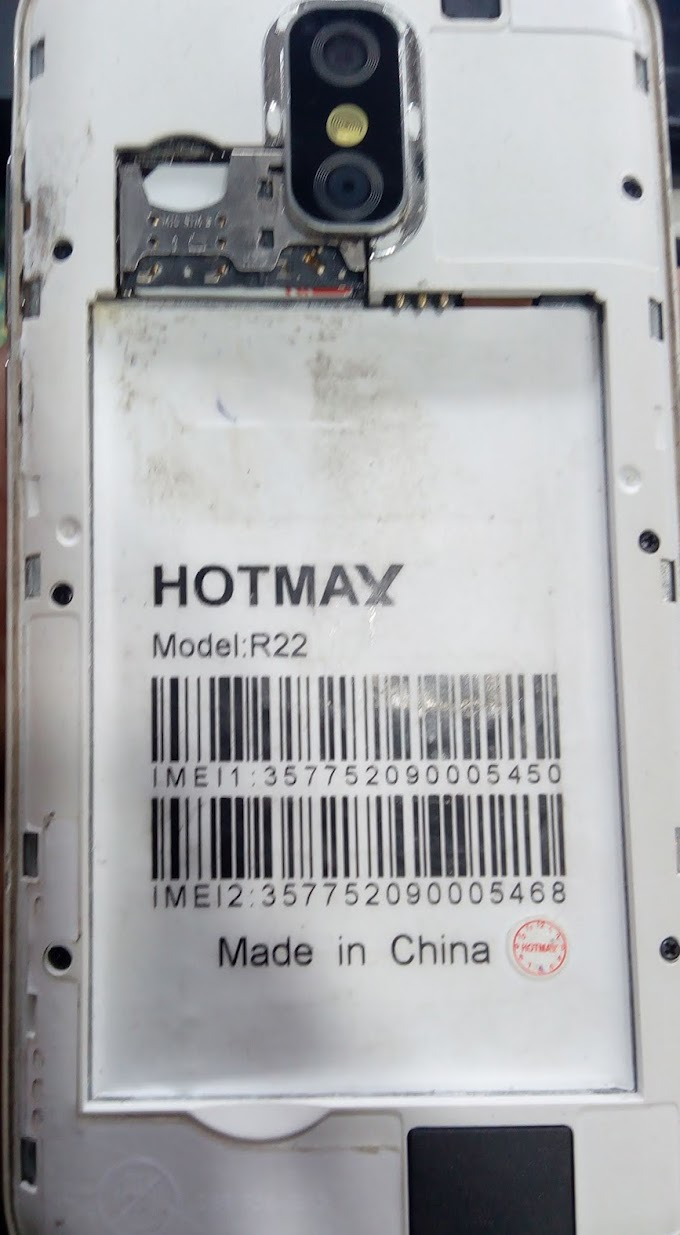 HOTMAX R22 FLASH FILE MT6580 FIRMWARE