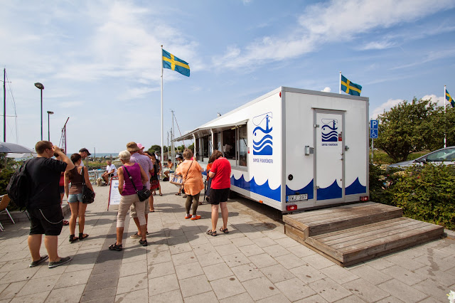 Smygehuk, punto più meridionale della Svezia
