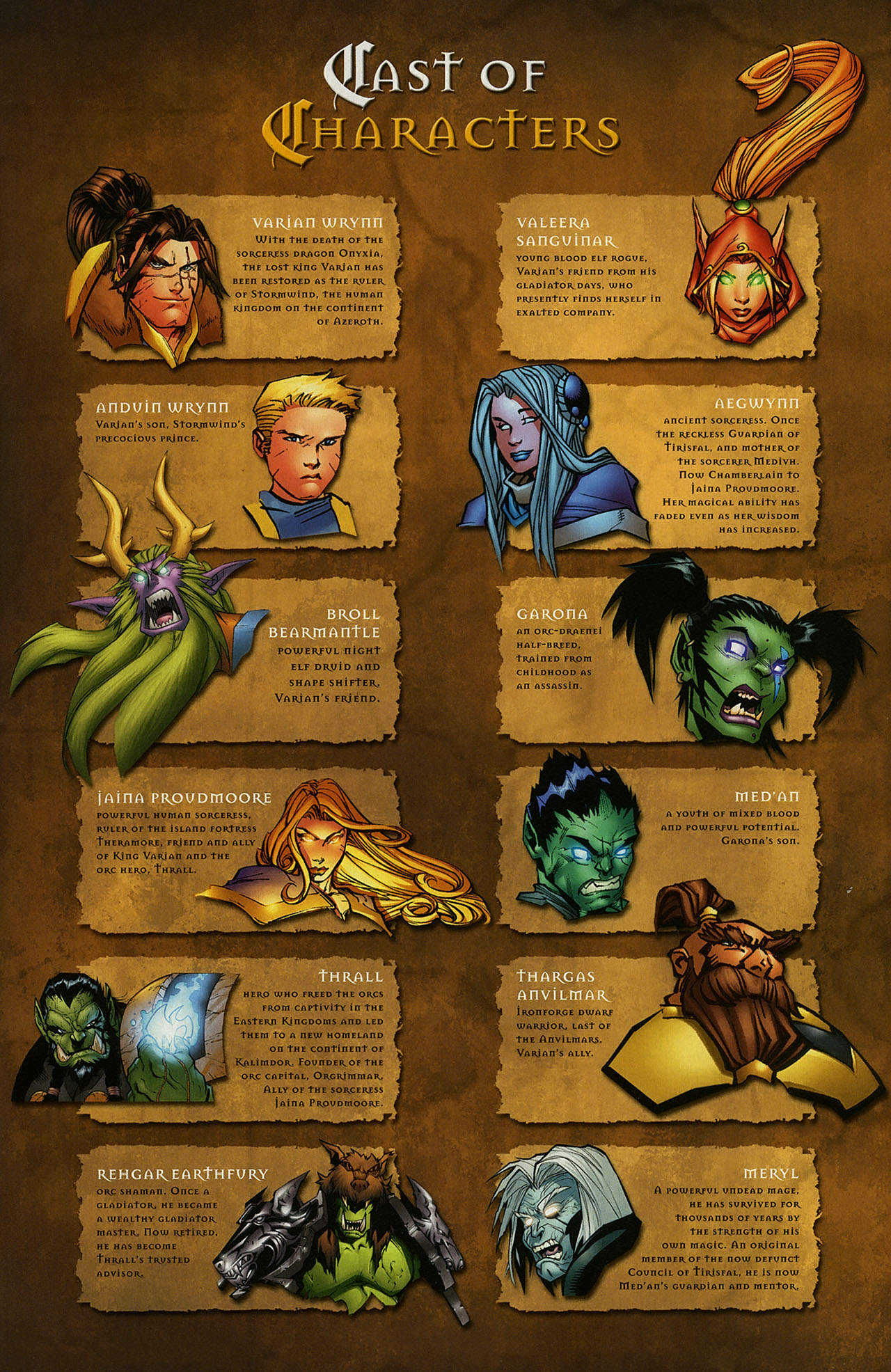 Read online World of Warcraft comic -  Issue #15 - 21