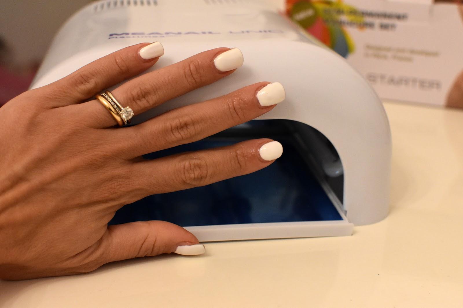 manicure semipermanente a casa