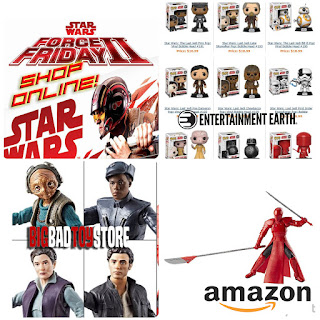 Star Wars force friday 2 black series funko pop amazon exclusive praetorian guard