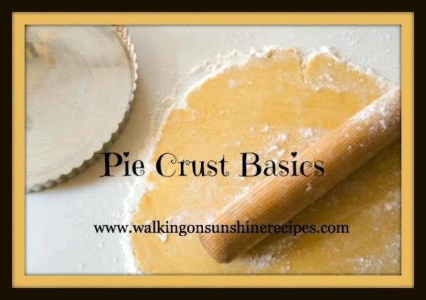 Pie Crust Basics - Part One - Making Dough