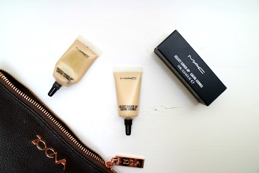 Beneath the Brush : UNDERRATED CONCEALER: MAC SELECT COVER UP