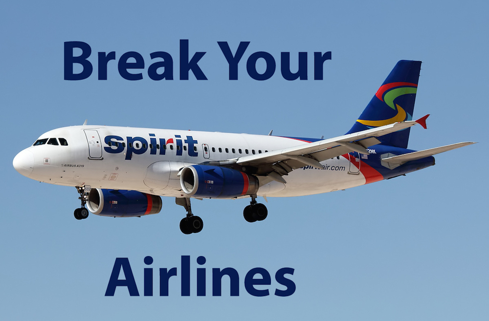 Spirit Airlines Cancellation >> The On-Line Buzzletter: Worst Airline EVER: Spirit Airlines - Won't Donate credits to Veterans