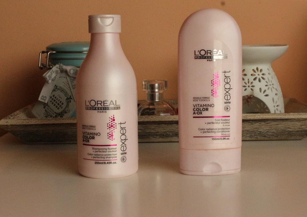 L'Oreal Professionel Vitamino Color A-OX | szampon i odżywka |