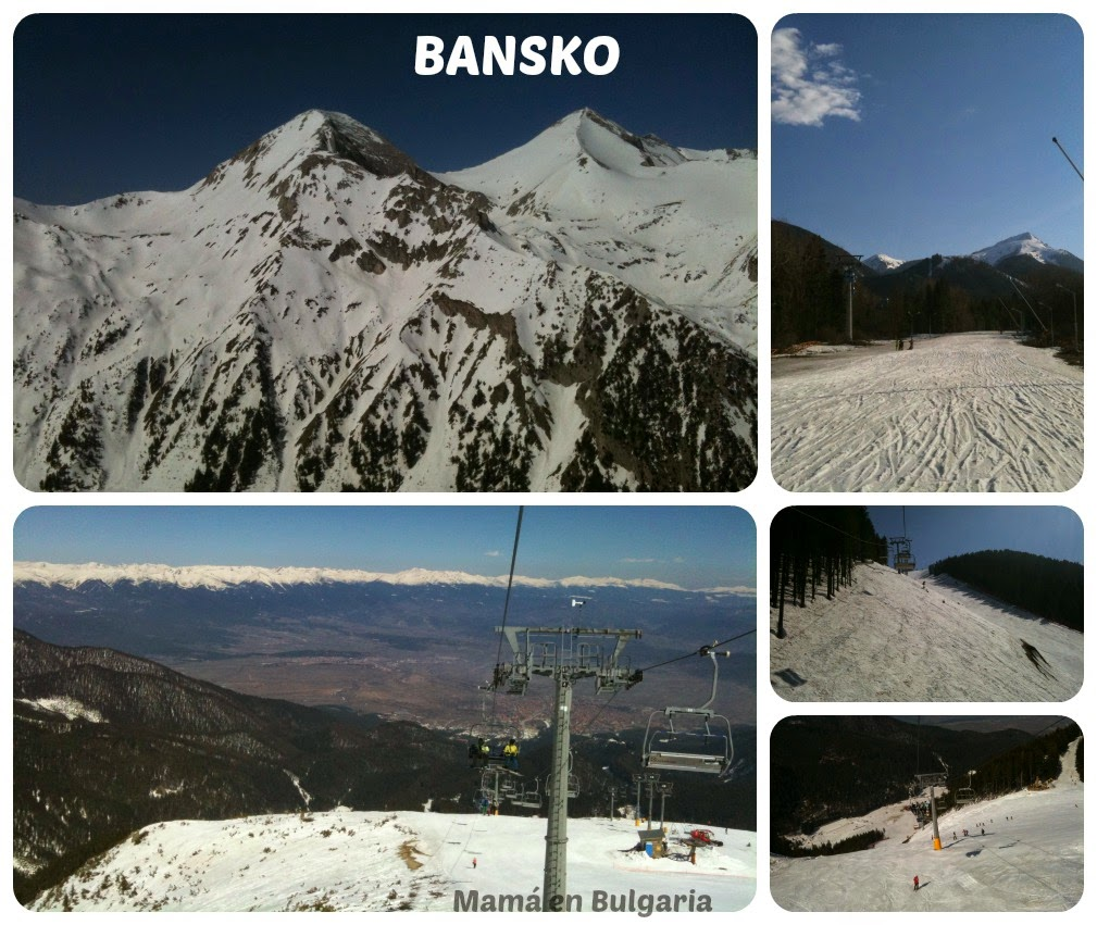 estación de esquí Bansko Bulgaria