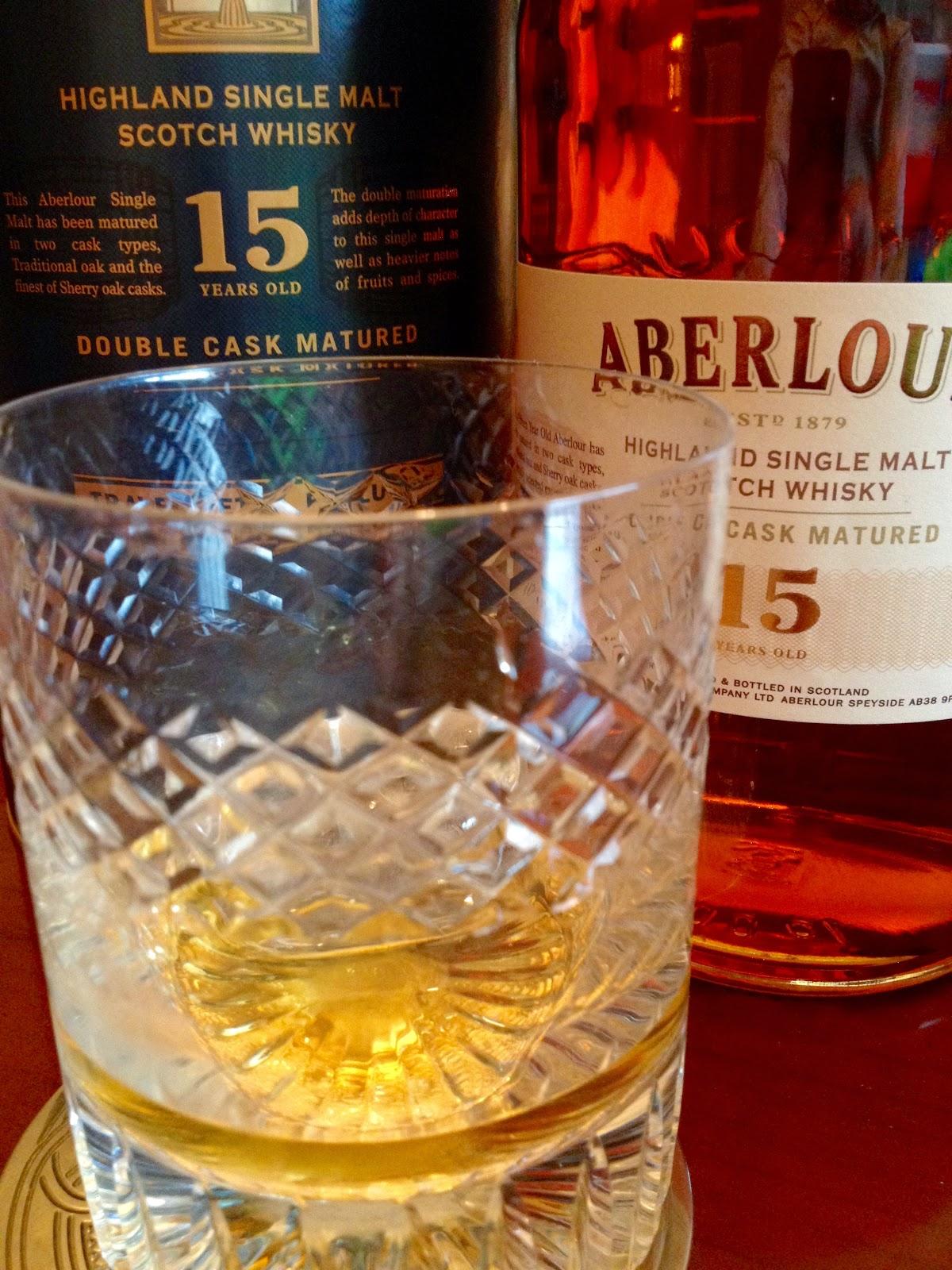 Aberlour - 15 Years - Introducción al Whisky - Whisky - güisqui - RAE - Álvaro García - alvarogp - el gastrónomo - el troblogdita