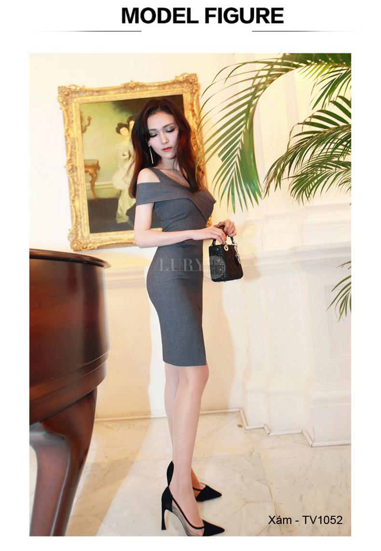 Lựa chọn cho mình một mẫu váy liền thân ôm body là hợp lý nhất