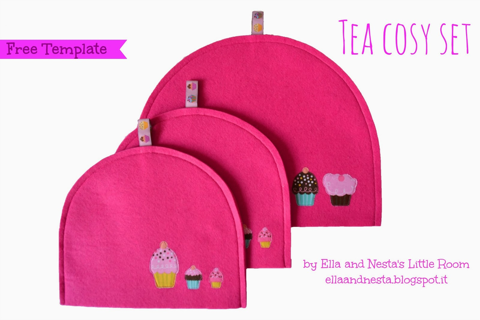 Tea cozy set image_pdf tea cozy pattern template free