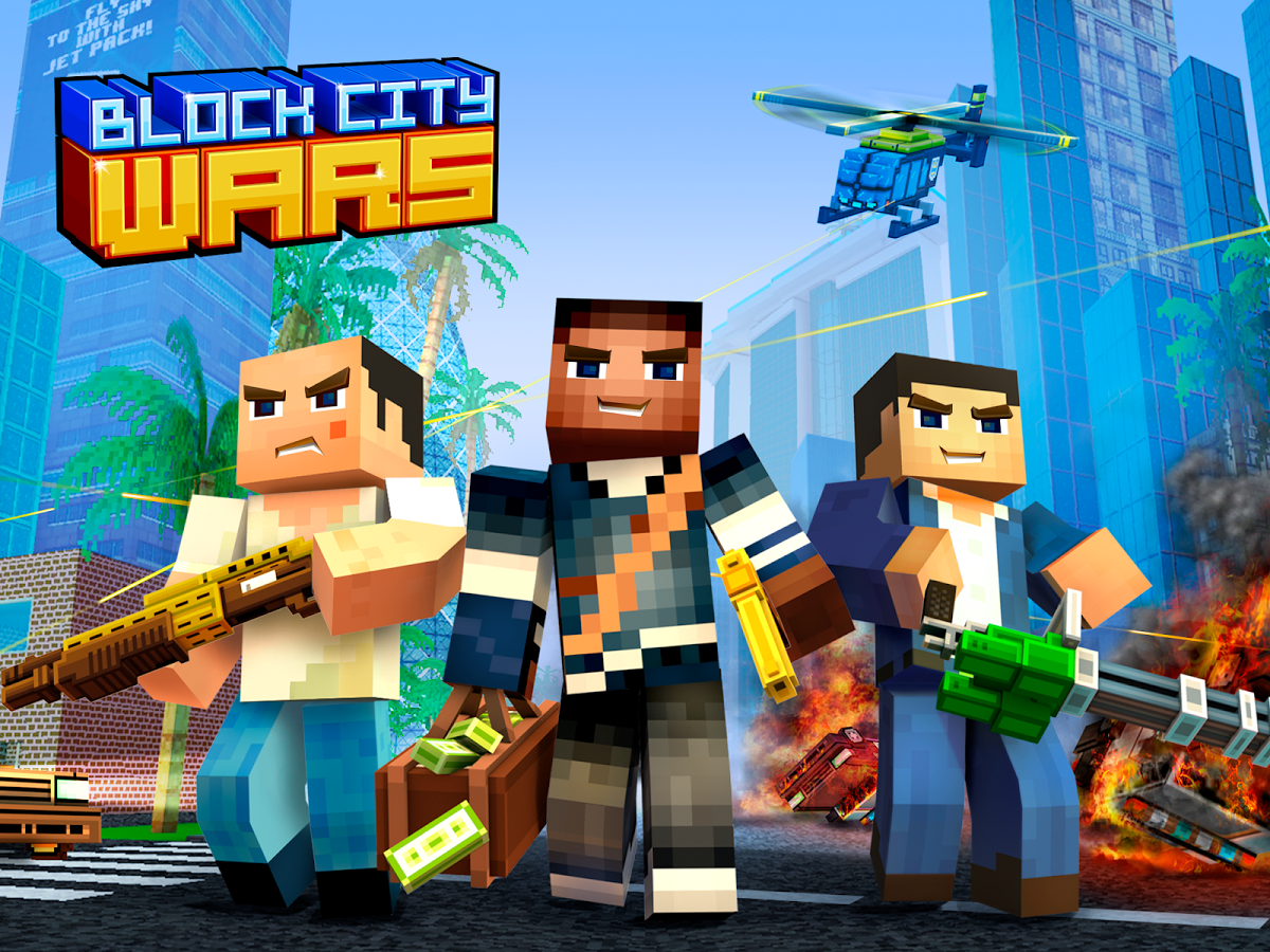 Block City Wars 656 MOD Unlimited Money Data APK Android