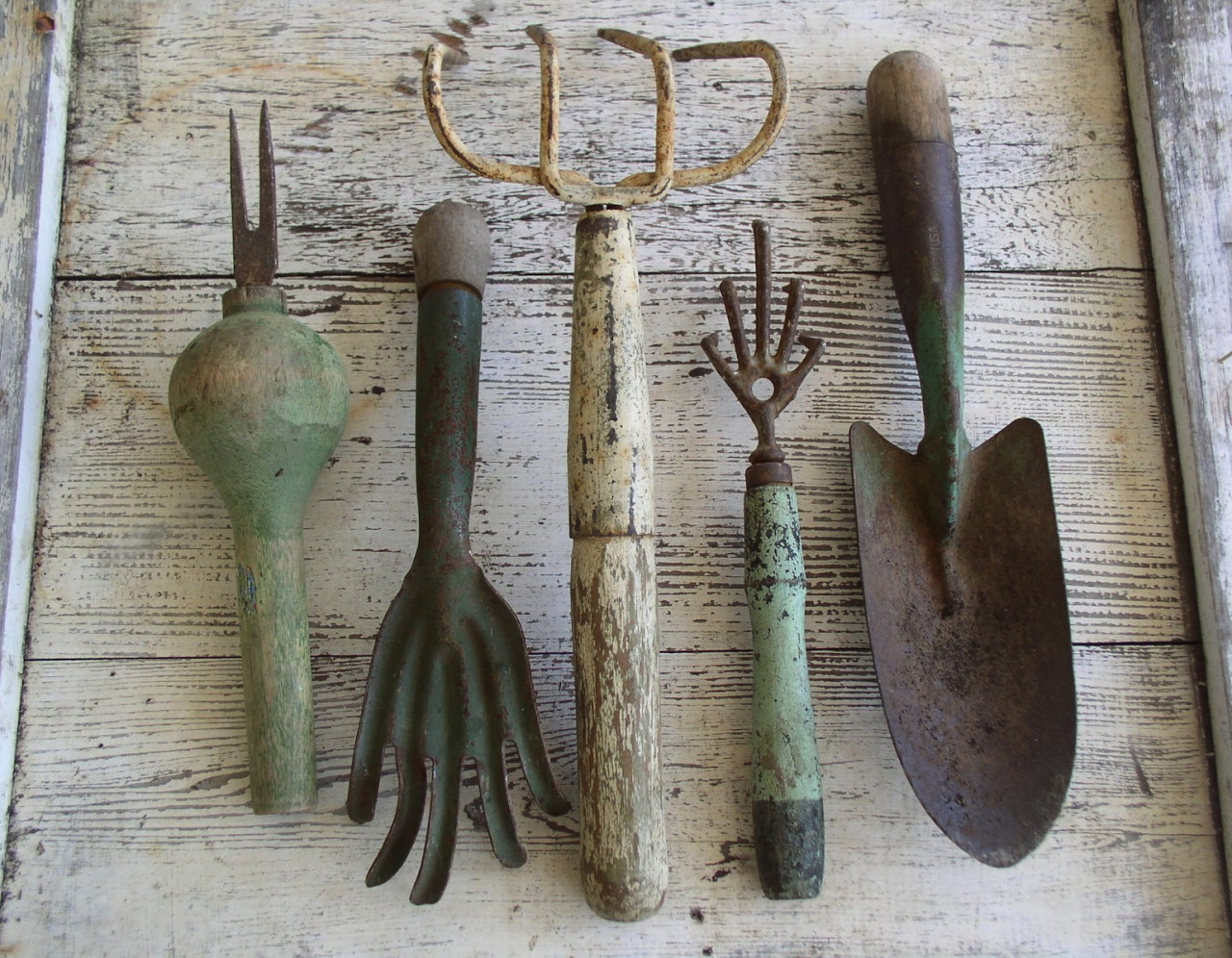 Old Gardening Tools Are The Best