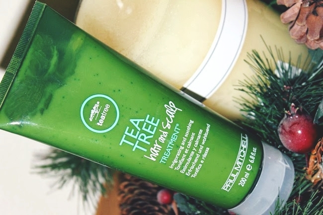Paul Mitchell Tea Tree hair and sculp treatment review